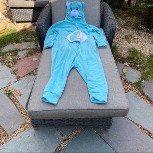 Bedtime Bear Care Bear Onsie Costume /Pajamas.